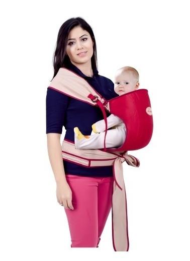 Sevi Bebe Sevi Bebe Bel Destekli Pratik Yanguru  Bordo
